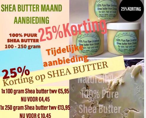 shea butter naturallyley